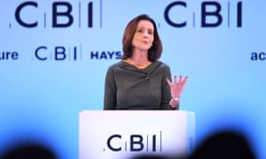 Carolyn Fairbairn, director general of the CBI at its annual conference in London on 18 November.