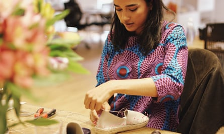 Making espadrilles in the Juta Shoes workshop