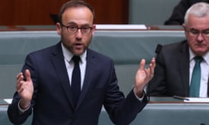 Greens climate spokesman Adam Bandt calls the Morrison government's decision to use carry-over Kyoto credits to meet the Paris target 'dodgy'