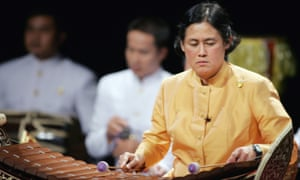 Princess Sirindhorn, seen here performing at the Guimet museum in Paris in 2006, would be the preferred choice of some of Thailand's elites to succeed her father.