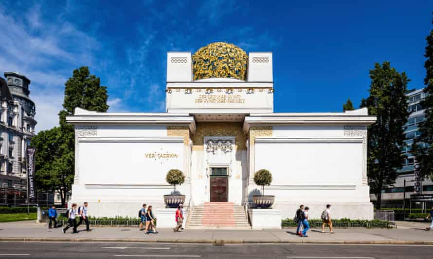 Exhibitionist: the recently renovated Secession Building.