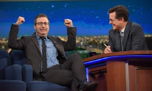 John Oliver and Stephen Colbert: America's foremost public intellectuals?