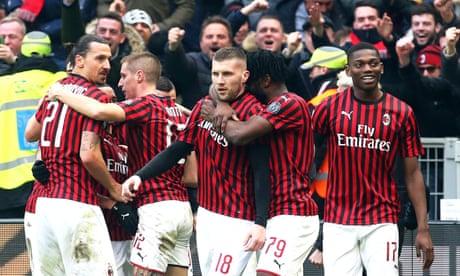 European roundup: Rebic grabs late Milan winner, Mallorca thrash Valencia