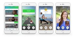 Exercise app Gixo