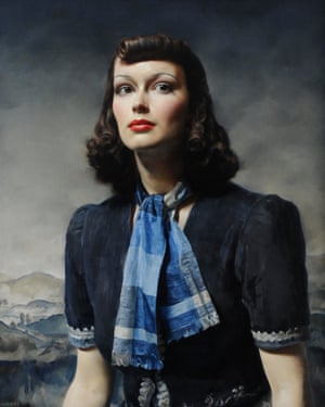 By the Hills (1939) by Gerald Brockhurst.