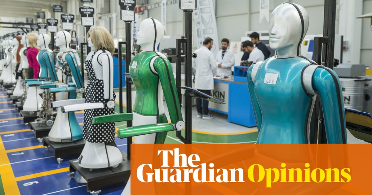 Robots will take our jobs  We'd better plan now, before it's