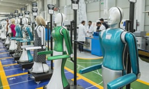 Turkey's first humanoid robotics factory, in Konya province.
