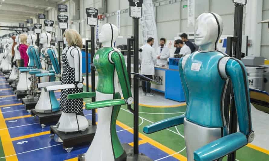 Turkey's first humanoid robotics factory, in Konya province.