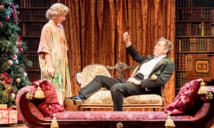 Bard times: Lisa Dillon and Edward Bennett in Much Ado About Nothing.