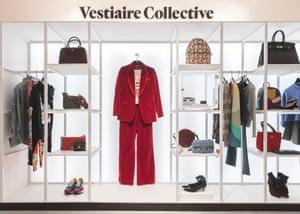 Resale platform … Vestiaire Collective at Selfridges.
