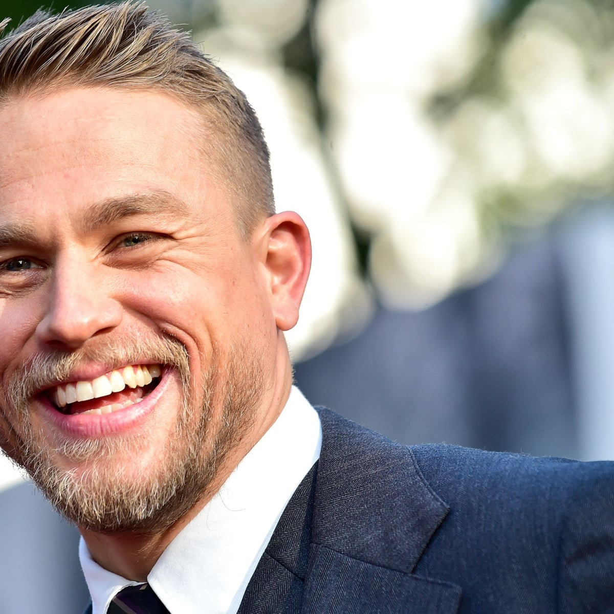 Charlie Hunnam When Beckham Came On Set Tough Guys Turned Into Little Girls At A Justin Bieber Gig Culture The Guardian