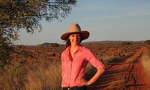 Australian farmer in outback