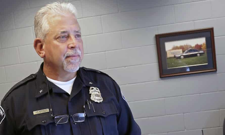 St Anthony police chief Jon Mangseth