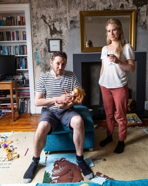 Jon Richardson and Lucy Beaumont.