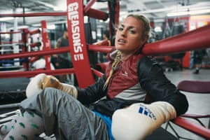 Heather Hardy holds the WBC International Female super-bantamweight title.