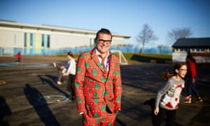 Chris Dyson, headteacher at Parklands primary in Seacroft, Leeds
