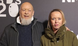 Michael and Emily Eavis at the NME awards in February.