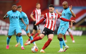Oliver Norwood, in action here against Spurs, has impressed with his artful passing.