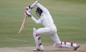 Haseeb Hameed in action for Lancashire earlier this season.