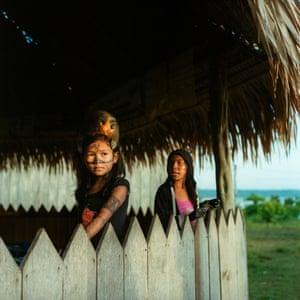 Munduruku indigenous girl