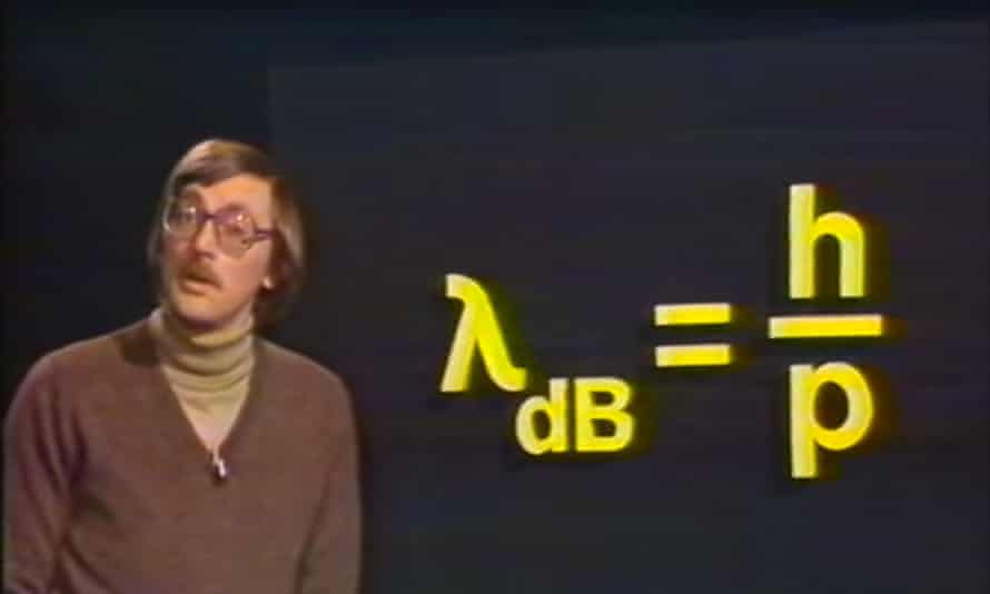 Quantum mechanics lecture televised in 1982.