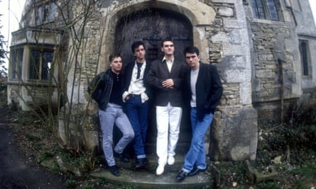 The Smiths in 1987: Andy Rourke, Johnny Marr, Morrissey and Mike Joyce.