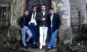 The Smiths pictured in March 1987.