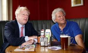 Boris Johnson and Tim Martin
