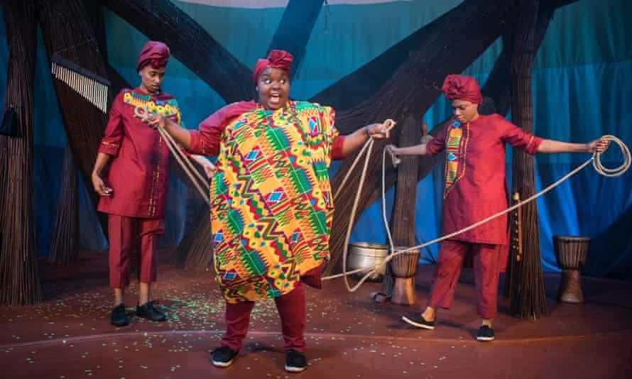 Wicked fun … Afia Abusham, Juliet Okotie and Sapphire Joy on stage at the Unicorn last year.