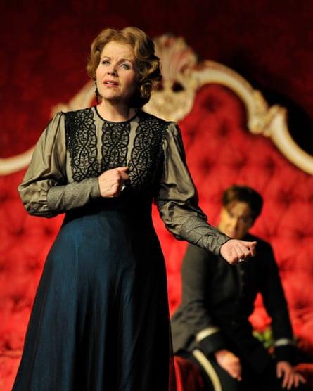 'Enough is enough' … Fleming in Der Rosenkavalier.