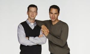Sean Hayes as Jack McFarland, Eric McCormack as Will Truman in Will and Grace