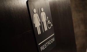 A gender neutral bathroom