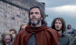 Destiny's child ... Chris Pine in Outlaw King.