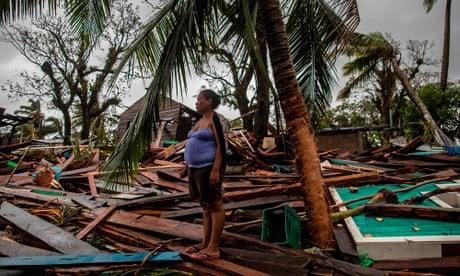 Hurricane Iota wreaks havoc across Central America – in pictures