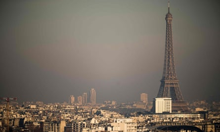 The study used hi-tech remote-sensing equipment to measure emissions from vehicles in Paris.