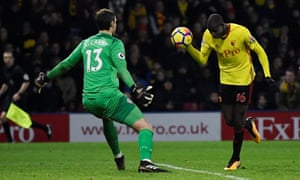 Abdoulaye Doucouré rescues a point for Watford with his late – and contentious – equaliser.