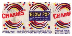 Charms Blow Pop.