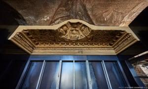 巴尔米拉贝尔神庙天花板的复制品