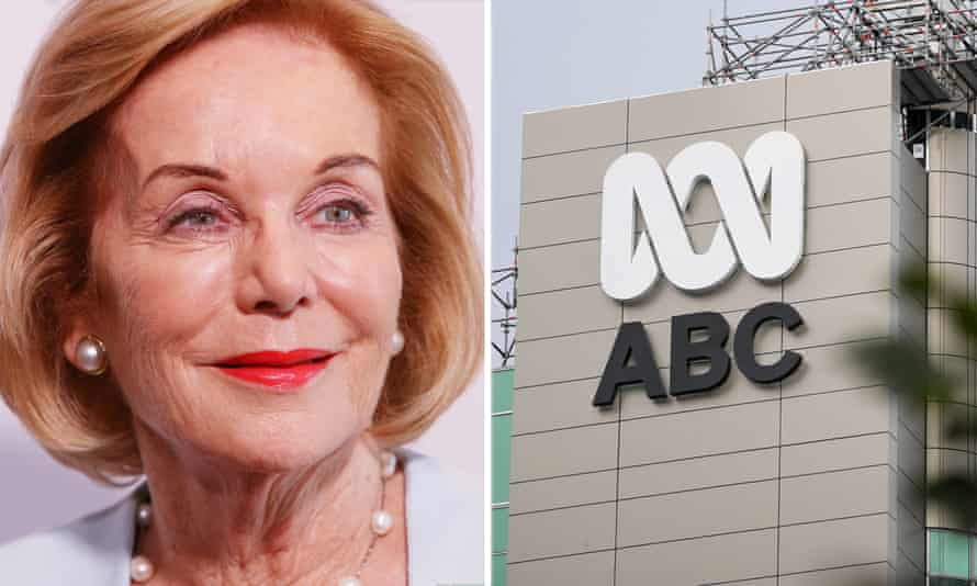 ABC chair Ita Buttrose has defended the independence of the public broadcaster after the communications minister sent a list of questions about a Four Corners program critical of the behaviour of government ministers.