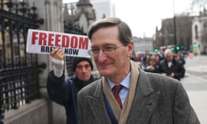 Conservative MP Dominic Grieve outside parliament.