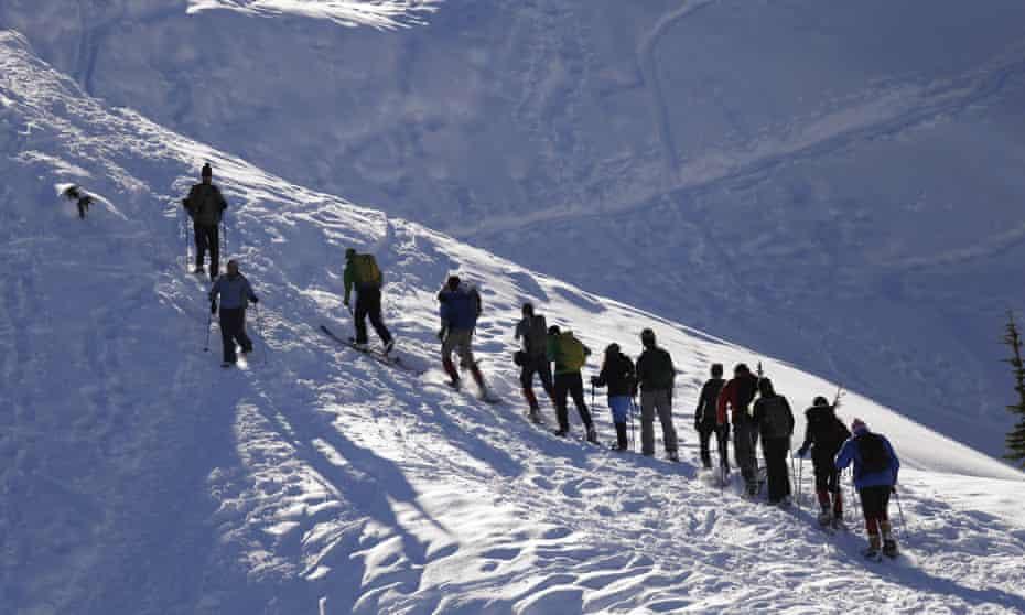 US avalanches Washington Colorado Wyoming