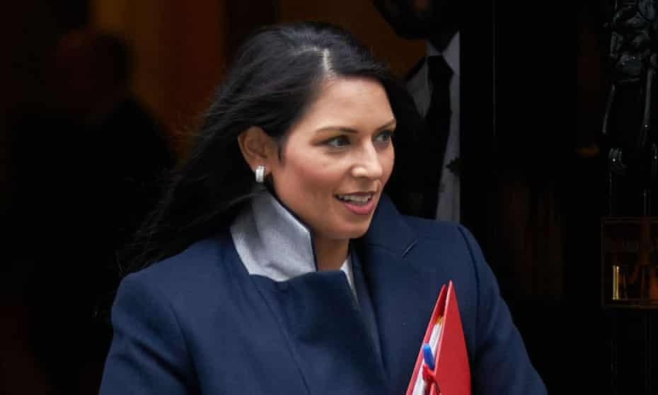 Priti Patel, who is currently visiting Uganda and Ethiopia with international trade secretary Liam Fox.