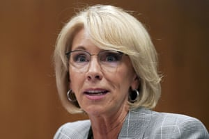 DeVos has also proposed a requirement that colleges allow cross-examination of sexual assault and harassment accusers.