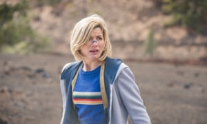 Jodie Whittaker as the Doctor in Orphan 55.