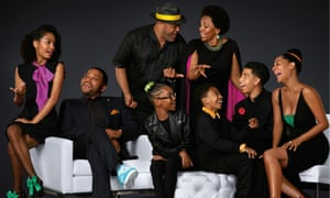 The cast of Black-ish.