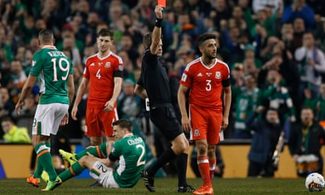 Wales' Neil Taylor gets two-game ban for tackle that broke Séamus Coleman's leg