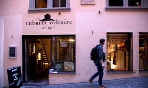 The Dadaist movement began at Cabaret Voltaire.