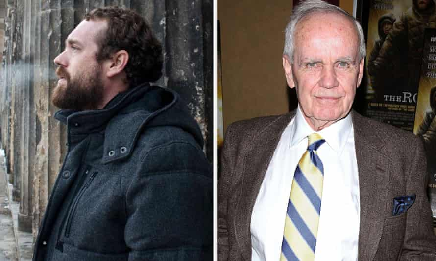 Spot the difference … Willem Anker (left) and Cormac McCarthy.