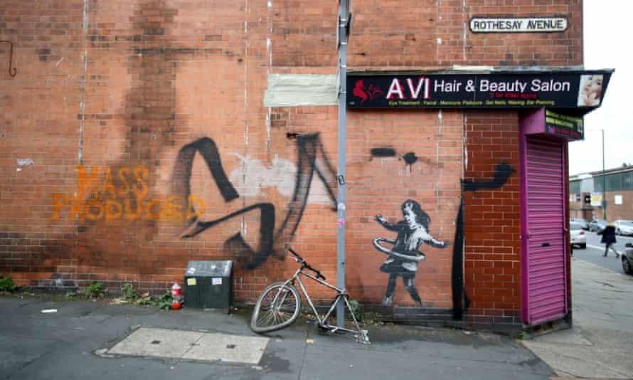 Banksy artwork in Nottingham