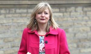 Tracy Brabin  wearing pink coat